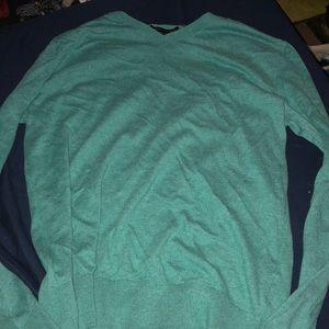 Dress teal shirt